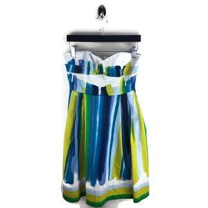Calvin Klein Strapless Multicolor Dress Size 4